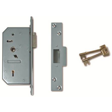 (Ex Chubb) Union 3R35X Egress Non British Standard 5 Lever Mortice Deadlocking Latch