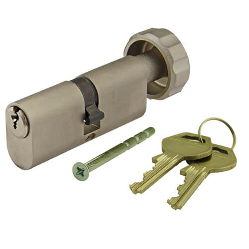 Gege pExtra Plus Oval Key and Turn Cylinder