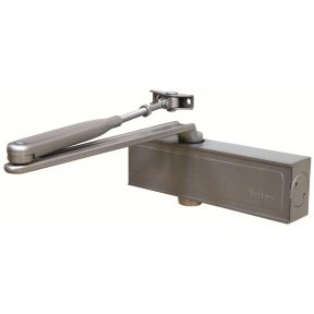 Briton 1120 Size 2-4 Overhead Door Closer with Backcheck