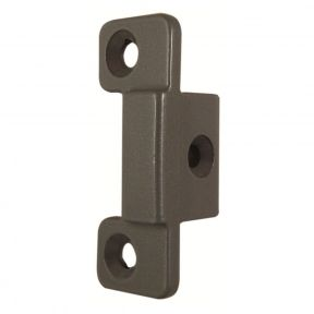 Briton Double Door Latch Keep Plate to Suit 378 Series Rim Latch Push Bars