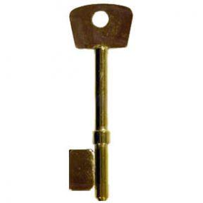 Union 3G110 Electro-Brass Copy Mortice Key Blank