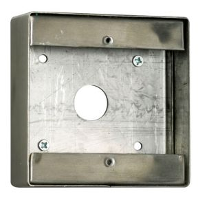 TSS Stainless Steel Back Box - DDA Large