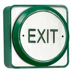 TSS Large Push Plate Exit Button