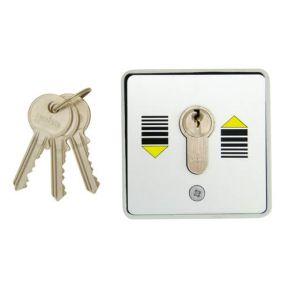 Geba 2 Way Roller Shutter Key Switch