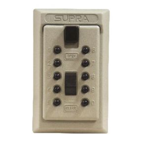 Supra Permanent Wall Mounted Key Safe