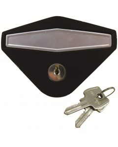 Starfleet Garage Door Flush Fitting Anti Vandal Handle - Rear Fix