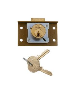 Union 4138 4 Pin Cylinder Cut Cupboard Deadlock
