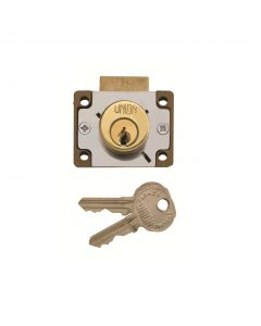 Union 4147 4 Pin Cylinder Cupboard Deadlock