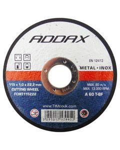Timco Metal Slitting Wheel