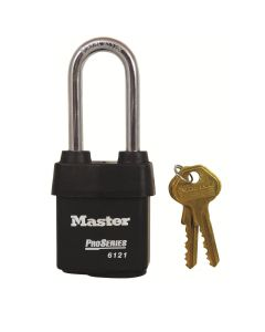 Master Pro Series Hi-Security 54mm Padlock - Long Shackle