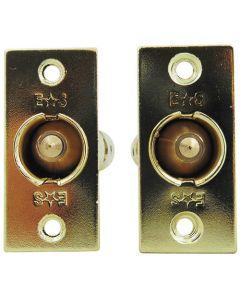 Eurospec Mortice (Rack) Spline (Star) Key Door Bolts - 2 Bolts 1 Key - 32mm Backset