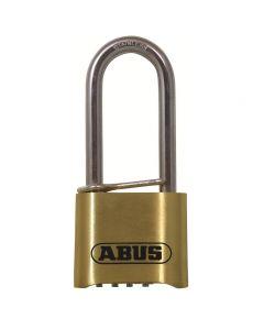 Abus 180IB 50mm Long Shackle Combination Brass Padlock