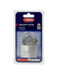 Abus 54TI Titalium 50mm Open Shackle Padlock