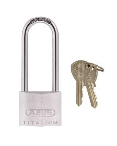Abus 64TI Titalium 40mm Extra Long Shackle Padlock