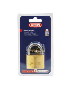 Abus 65 Series 45mm Open Shackle Brass Padlock