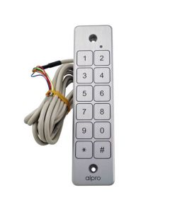 Alpro Weatherproof Narrow Touch Access Keypad