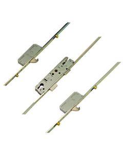 KFV Latch Deadbolt 2 Hooks 4 Rollers Lift Lever