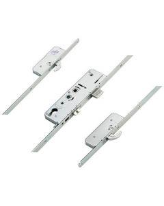 Avantis Timber/Composite Door Latch Deadbolt Snib 2 Hooks Option 4 Double Spindle