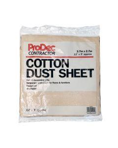 Cotton Twill Dust Sheet 12 Metre x 9 Metre