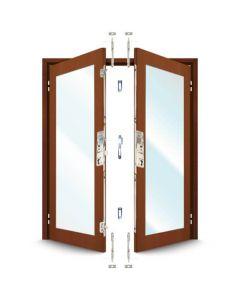 ERA 5345 French Door Kit for a pair of rebated timber doors