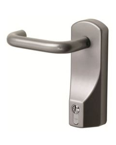 Exidor FD322 Outside Access Device - Lever Handle with Euro Cylinder - For Timber or Metal Doors