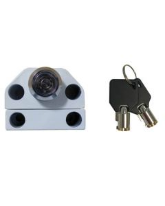 Security Grille Push Lock With Radial Key