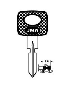 JMA ME-2.P Mercedes Laser Key Blank