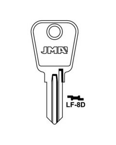 JMA LF-8D Key Blank