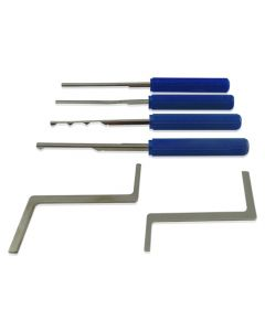 Dimple Cylnder Pick Set 6 Piece