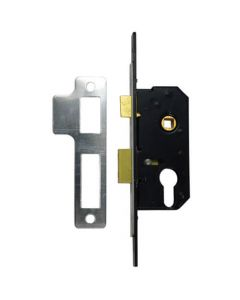 "Willenhall M5 Euro 2"" Mortice Sashlock FP19 Extended"