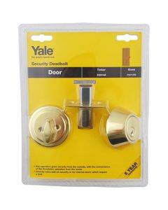 Yale P5211 Security Key & Turn Mortice Deadbolt