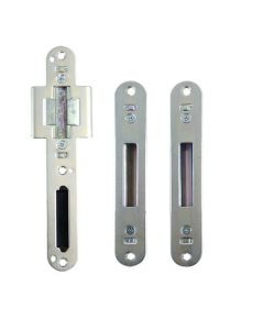 Lockmaster Composite Timber Latch Deadbolt 2 Hook Keep Set