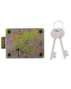 Walsall S1772 7 Lever Safe Lock Side Shoot