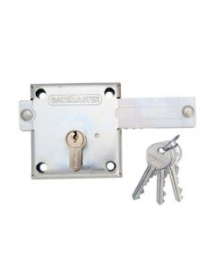 Gatemaster Euro Deadbolt for Gates with 30/65 Euro Double Cylinder