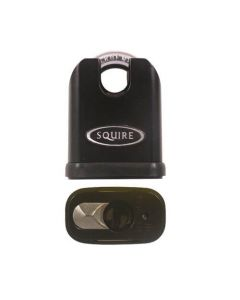 Squire Stronghold Euro 50mm Padlock - Closed Shackle
