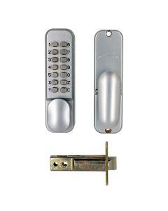 TSS Digital Lock with Tubular Mortice Latch