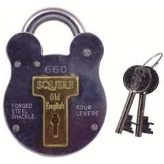Squire 220 38mm Padlock - Open Shackle