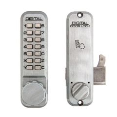 Lockey 2500S Surface Mortice Hook Digital Lock for Sliding Doors