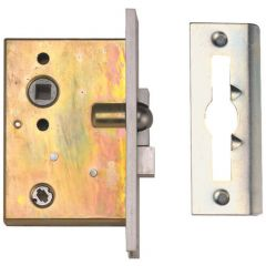 Wellington 2D Waterloo Bathroom Mortice Latch