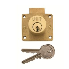 Union 4010 5 Pin Cylinder Drawer Cupboard Deadlock