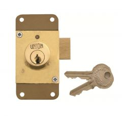 Union 4143 4 Pin Cylinder Straight Cupboard Deadlock