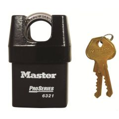 Master Pro Series Hi-Security 54mm Padlock - Closed Shackle
