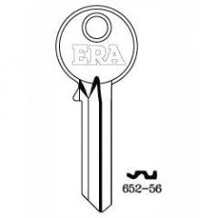 Era 652-56 Genuine 6 Pin Cylinder Key Blank