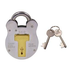 Squire 660 Old English 64mm Open Shackle Padlock Keyed Alike