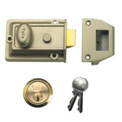 Yale 77 Traditional Non Deadlocking Nightlatch on Original Key Section