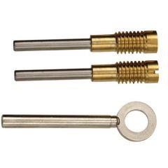 Chubb 8K104 & 8013 Wooden Sash Window Dual Screws
