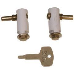 ERA 829 Metal Casement Window Cockspur Handle Lock