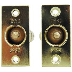 Eurospec Mortice (Rack) Spline (Star) Key Door Bolts - 2 Bolts 1 Key - 32mm Backset