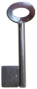 9 Gauge Pipe Safe Key Blank