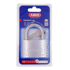 Abus 64TI Titalium 60mm Open Shackle Padlock